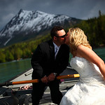 Seward/Cooper Landing Wedding: Genni & Ross at Alaska Wildland Adventures by Karen Hilton