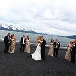 Seward/Cooper Landing Wedding: Genni & Ross at Lowell Point by Karen Hilton