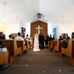 Seward/Cooper Landing Wedding: Genni & Ross at Seward United Methodist by Karen Hilton