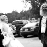 Talkeetna Wedding: Ashley & Daniel in Downtown Talkeetna by Joe Connolly