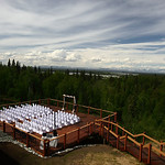 Talkeetna Wedding: Ashley & Daniel at the Talkeetna Alaskan Lodge by Joe Connolly