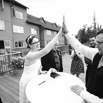 Talkeetna Wedding: Kyra & Derek at the Talkeetna Alaskan Lodge by Joe Connolly