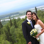 Talkeetna Wedding: Alison & Seth at the Talkeetna Alaska Lodge by Joe Connolly