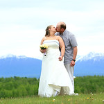 Wasilla Wedding: Jennifer & Jim at Settlers Bay Lodge by Heather Thamm