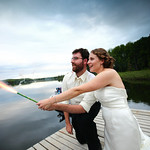 Willow Wedding: Britta & Alex at Long Lake Residence by Josh Martinez