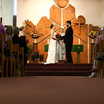 Anchorage Wedding: Britta & Alex at Central Lutheran Church by Josh Martinez