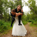 Willow Wedding: Jeni & Kyle at the Talkeetna Alaskan Lodge by Philip Casey