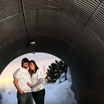 Anchorage Engagement: Brittany & Drew Along the Coastal Trail by Josh Martinez