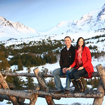 Glen Alps Engagement Session: Kim & Brad by Joe Connolly