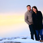Anchorage Engagement: Maddie & Taylor at Potter Marsh by Josh Martinez