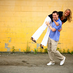 Anchorage Engagement: Hannah & Jonathan in Downtown Anchorage by Joe Connolly