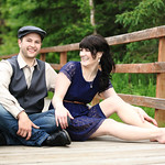 Birchwood Engagement: Candice & Ken at Beach Lake by Joe Connolly