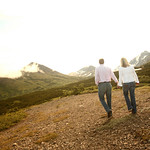 Anchorage Engagement: Susan & Matt at Glen Alps by Joe Connolly