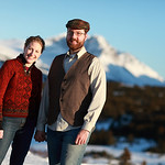 Glen Alps Engagement Session: Britta & Alex by Josh Martinez