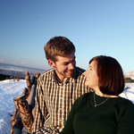 Anchorage Engagement: Chelsea & Kevin in Glen Alps by Joe Connolly
