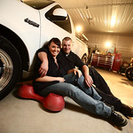 Garage Engagement Session - Alicia & Mark by Josh Martinez