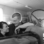Garage Engagement Session - Alicia & Mark by Joe Connolly