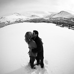 Anchorage Engagement: Christina & Nick in Glen Alps by Joe Connolly