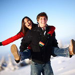 Anchorage Engagement: O'Lita & Nick in Glen Alps by Joe Connolly