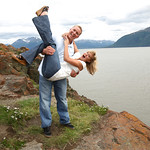 Seward Highway Engagement: Lynsey & Brad by Joe Connolly
