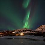 Northern Lights over Glen Alps