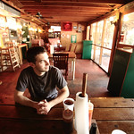 Philip at lunch in St. Simons, Ga, by Joe Connolly