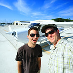 Philip and Joe in St. Simons, GA by Joe Connolly