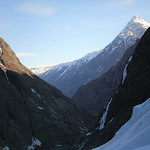 From the toe of the Eklutna Glacier - Bold Peak above. Bryan and I climbed that 3 years ago! Crazy!