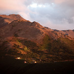 Sunsets & Rainbows @ Chugach Peaks HQ by Joe Connolly