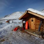 Caribou Bluff Cabin by Joe Connolly