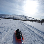 Skiing The Fossil Gap Trail by Joe Connolly