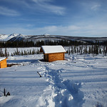 Wolf Run Cabin by Joe Connolly