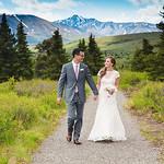 Denali Wedding: Jessica & Mark Around Denali by Jonathan Gurry