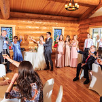 Denali Wedding: Jessica & Mark at Tonglen Lake Lodge by Jonathan Gurry