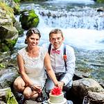 Girdwood Wedding: Callie & Michael in Girdwood by Ralph Kristopher
