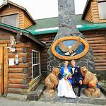 Summit Lake Wedding: Heather & Joe at Summit Lake Lodge by Heather Thamm