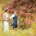 Wasilla Wedding: Katelyn & Gary at Hatcher Pass in Palmer/Wasilla by Lena Stevens and Laura Reeve