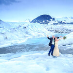 Knik Glacier Area Wedding: Susie & Greg by Joe Connolly