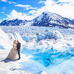 Knik Glacier Area Wedding: Brook & Kevin by Joe Connolly