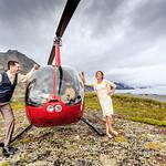 Knik Glacier Area Wedding: Lindsay & Nate