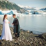 Knik Glacier Area Wedding: Brenda & Andrew by Joe Connolly
