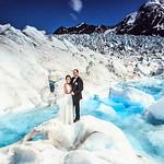 Knik Glacier Area Wedding: Caroline & Kris by Lena Stevens