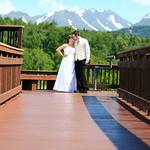 Anchorage Wedding: Anne & David Around Anchorage by Heather Thamm