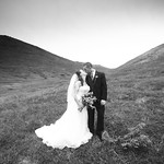 Anchorage Wedding: Ashley & Shawn at Alpenglow Ski Chalet by Joe Connolly
