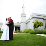 Anchorage Wedding: Lacy & Larry at the LDS Temple by Joe Connolly