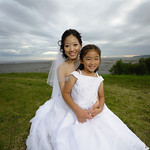 Anchorage Wedding: Eun & Yong at a Private Residence by Chris Beck