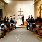 Anchorage Wedding: Christine & Benjamin at St. John United Methodist by Ralph Kristopher
