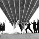 Anchorage Wedding: Christina & Nick at Ship Creek by Karen Hilton