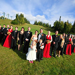 Anchorage Wedding: Alisha & George at Hilltop Ski Chalet By Josh Martinez