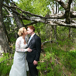 Anchorage Wedding: Erica & Tim at the Kincaid Park Chalet by Chris Beck